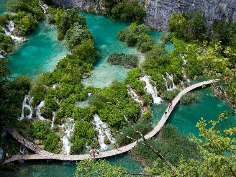 Geografie Kroatiens