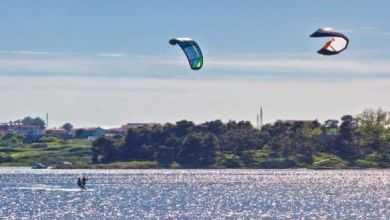 Kitesurfen in Kroatien